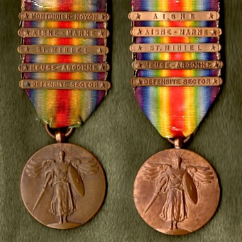Victory Medals for All Divisions of the AEF, Part 1 - Military and Wartime