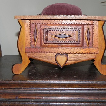 Antique Cigar Chest
