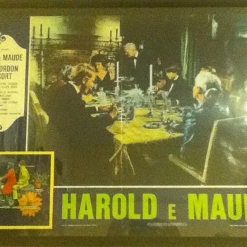 Italian &quot;Harold and Maude&quot; Poster