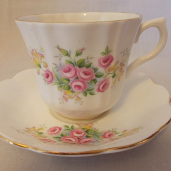 Royal Imperial cup, and saucer set