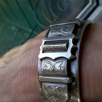 Victorian Buckle Cuff Bracelet Arrived Today! - Fine Jewelry