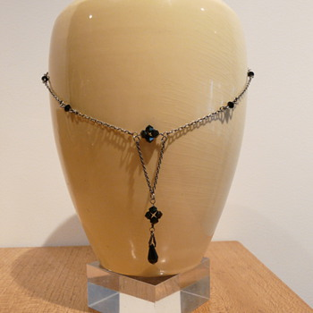 JET NECKLACE #2 - Costume Jewelry