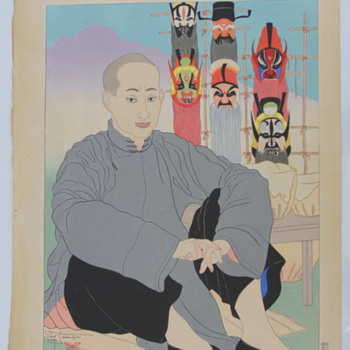 Paul Jacoulet - A Western Master of a Japanese Art Form - Woodblock Prints - Asian
