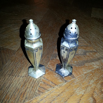 Salt and Pepper Shaker...Art Deco Era?