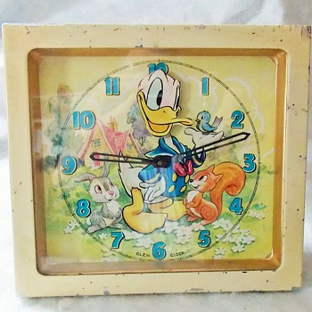 Scottish Made Animated Donald Duck Clock - Clocks