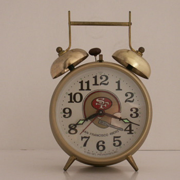 S.F. 49ers Super Bowl Sunday - Clocks