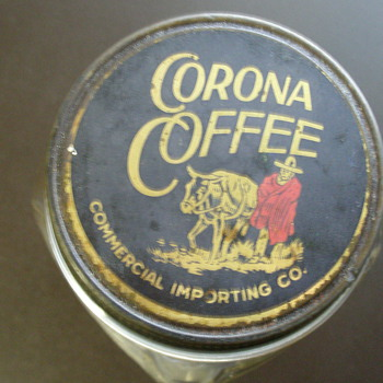 Corona Coffee Jar
