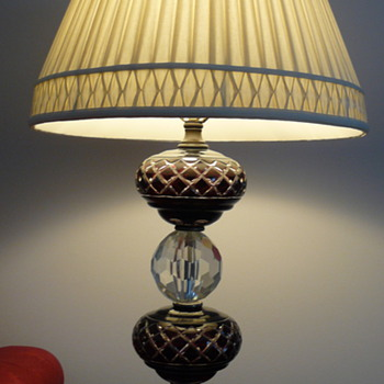 Beloved lamp, Czech crystal?