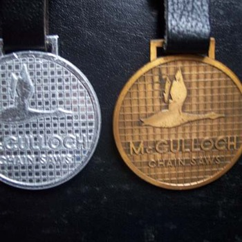 McCulloch Flying Goose Watch Fob - Pocket Watches