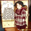 World Traveling (?) Porcelain Doll