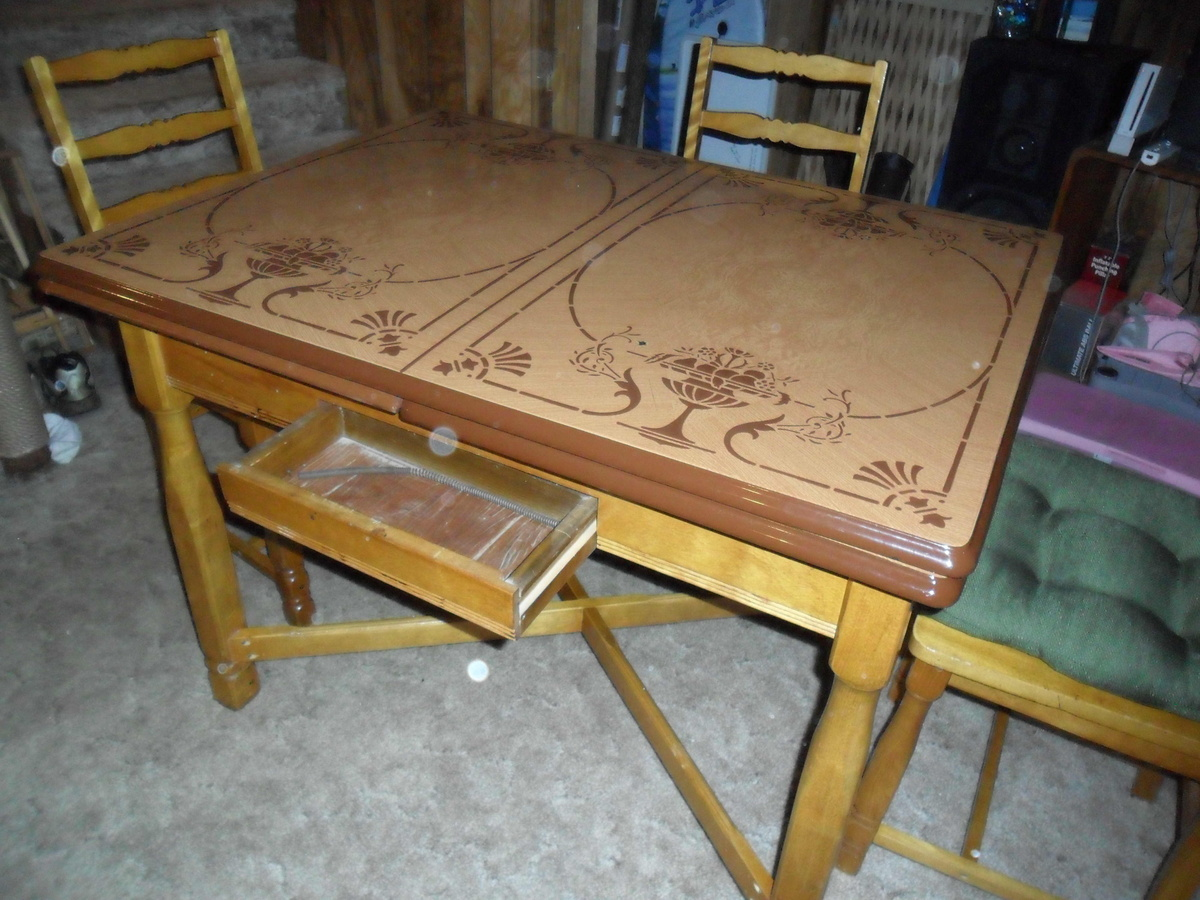 vintage metal top kitchen table metal kitchen table