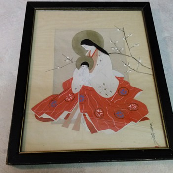 JAPANESE MADONNA AND CHILD - Asian