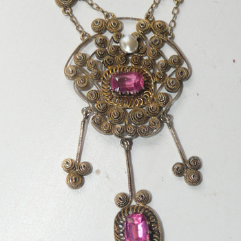 filigree collier.... - Costume Jewelry