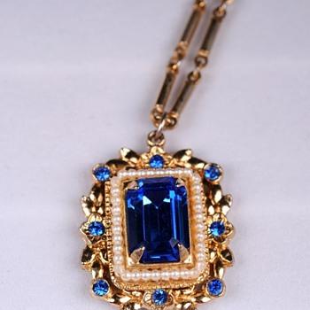 Coro Pendant - Costume Jewelry