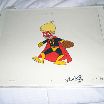 Macaulay Culkin Production Cels for Wish Kid and Pagemaster