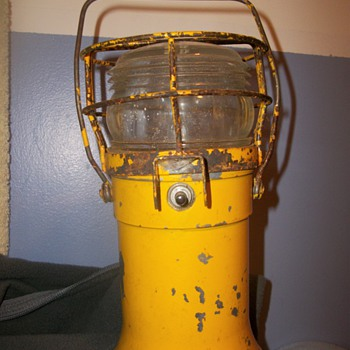 Yellow Signal Lantern