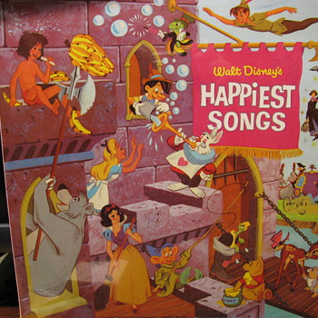Happiest Songs  Disney - Records