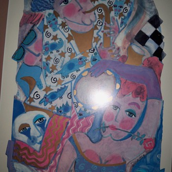 CAN SOME ONE HELP ME WITH THE HISTORY OF THIS ART........ - Posters and Prints