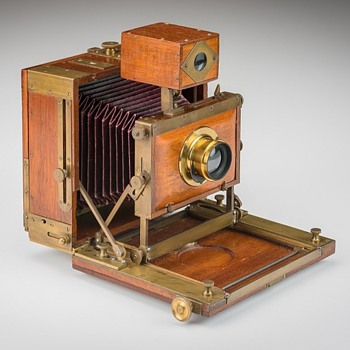 Unknown American Field Camera. c.1890s - Cameras