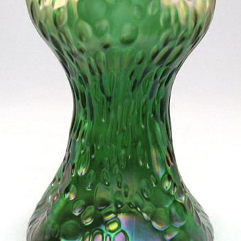 Loetz Art Glass Vase Creta Diaspora decor circa 1900 - Art Glass