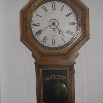 Beaver Creek, Minnesota  Railroad depot clock with history - Clocks