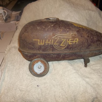 Wizzer Gas Tank - Motorcycles