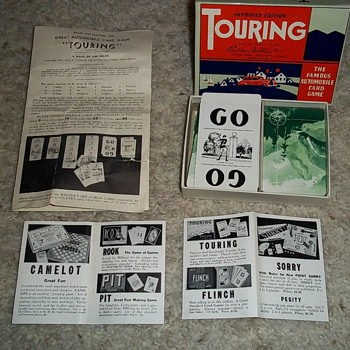 Old Parker Brothers TOURING game - Games