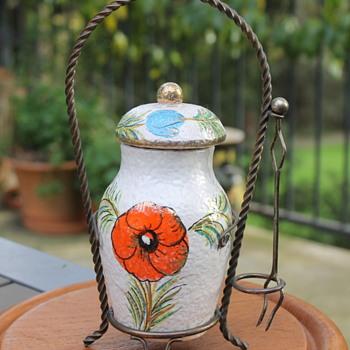 Fratelli Fanciullacci olive jar