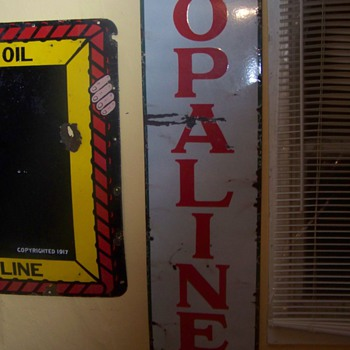 sinclair opaline sign - Petroliana