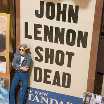 John Lennon...Dec.9, 1980...evening standard poster...