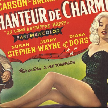 Diana Dors Belgium Movie Posters - Movies