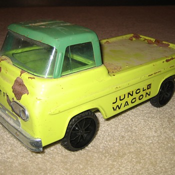 Custom Nylint Ford Econoline - Model Cars