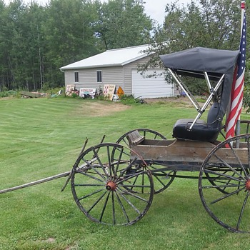 Antique Doctor's Buggy.