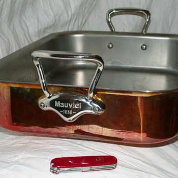 Mauviel 1830 Copper Roasting Pan (Non-Stick)