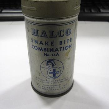 Vintage Halco Snake Bite Kit