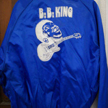 BB KING SATIN TOUR JACKET - Music Memorabilia
