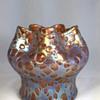 "Loetz Pink ""Diaspora"" Vase. 5.5"" tall. Circa 1902"