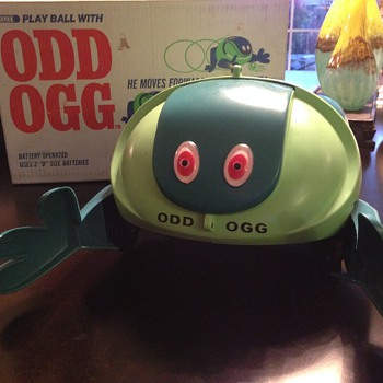 ODD OGG - My Childhood horror. - Toys