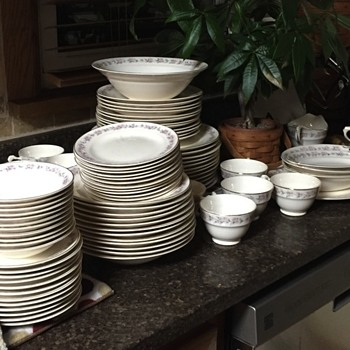 Crown Pottery - China and Dinnerware