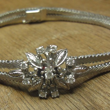 18K White gold diamond bracelet  - Fine Jewelry