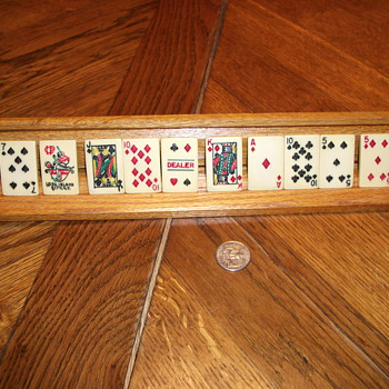 Mini ivory bridge game cards - looking for info.