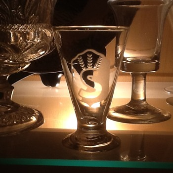 Finnish Civil Guard Glas - Glassware
