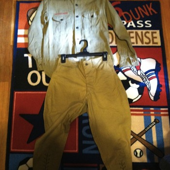 Old Boy Scout uniform