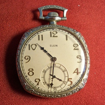 Vintage Elgin Pocket Watch - Pocket Watches