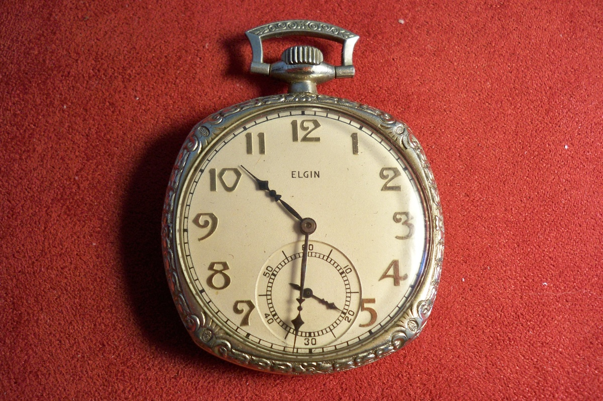 vintage elgin pocket collectors weekly