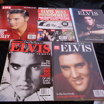 New Elvis Magazines - Paper