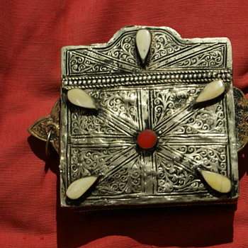 Antique Metal Purse  - Arts and Crafts