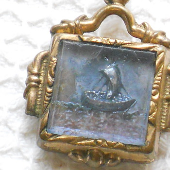 Odd Victorian Fob - Victorian Era