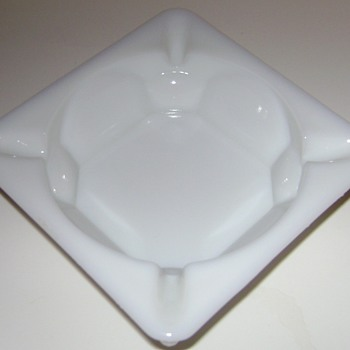 Westmoreland Glass Ashtray