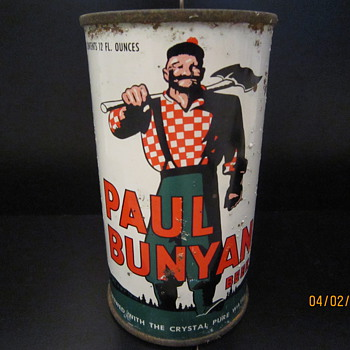 Paul Bunyan Beer Can